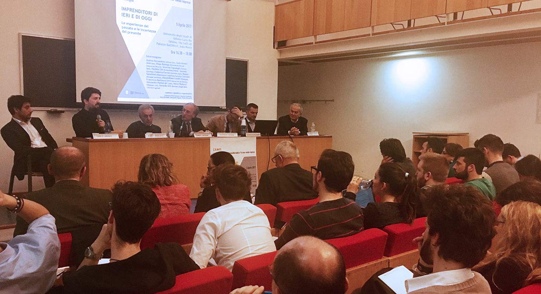 Webness al Convegno Imprenditori di ieri e di oggi Università di Urbino