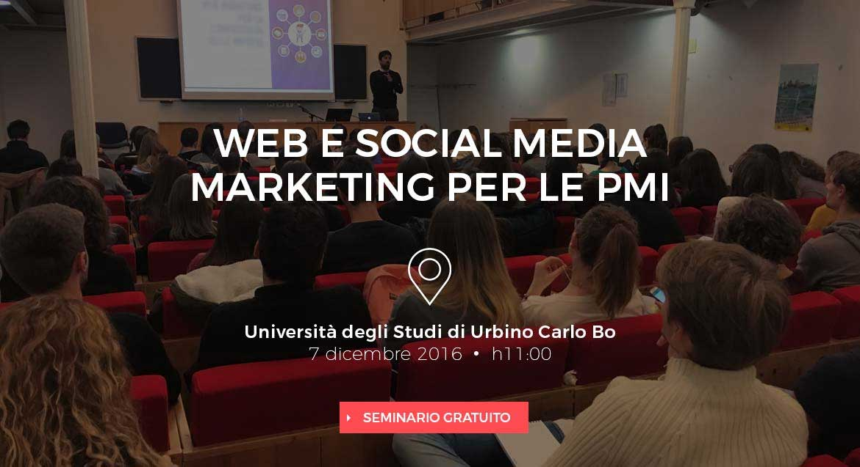 Seminario Web e Social Media Marketing per le PMI